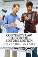 Contracts Law Study Book - Editor's Edition - Norma's Big Law Books