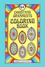 64 Christmas Ornaments Coloring Book - Alberta Hutchinson