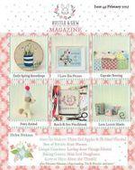 Bustle & Sew Magazine Issue 49 : February 2015 - Helen Dickson