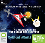 The Restaurant At The End Of The Universe (MP3) : Hitchhiker's guide to the Galaxy #2 - Douglas Adams