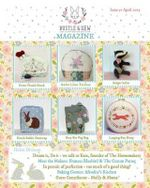Bustle & Sew Magazine Issue 51 : April 2015 - Helen Dickson