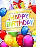 Happy Birthday : Celebration & Memory Book - Birthday Party Supplies in All Departmen