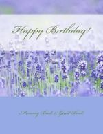 Happy Birthday! : Memory Book & Guest Book - Birthday Party Supplies in All Departmen