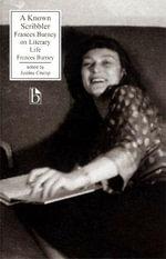 Known Scribbler : Frances Burney Pb - Frances Burney