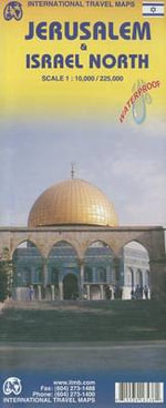 Jerusalem/Israel North : ITM.1455 - ITMB Publishing Ltd