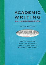 Academic Writing : An Introduction - Janet Giltrow