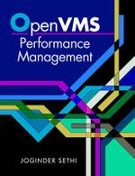 Open VMS Performance Management - Joginder Sethi