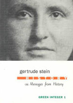 History or Messages from History - Gertrude Stein