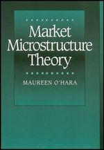 Market Microstructure Theory - Maureen O'Hara