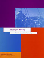 Teaching for Thinking : Psychology in the Classroom Ser. - Robert J. Sternberg