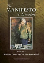 The Manifesto in Literature : 3 Volume Set