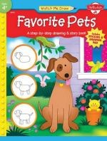 Favorite Pets : Watch Me Draw - Favorite Pets - Includes Stickers And Drawing Pad - Jenna Winterberg