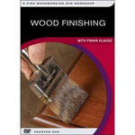 Wood Finishing : With Frank Klausz: a Fine Woodworking Dvd Workshop - Not Available