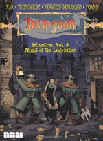 Dungeon Monstres : Night of the Ladykiller v. 4 - Lewis Trondheim