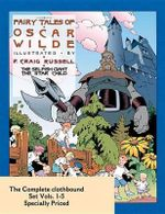 Fairy Tales of Oscar Wilde : The Complete Hardcover Set 1-5 - Oscar Wilde