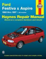 Ford Festiva and Aspire (88-97) Automotive Repair Manual - Jeff Kibler