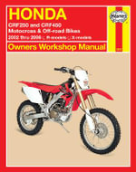 Honda Crf250 & Crf450 (02 - 06) : Owners Workshop Manual - Bob Henderson