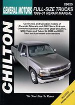 GM Full Size Trucks Automotive Manual : 99-06 - Jeff Kibler
