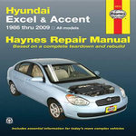 Hyundai Excel Automotive Repair Manual : 86-09 - Mike Stubblefield