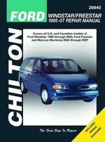 Ford Windstar Automotive Repair Manual : 95-07 - Jay Storer