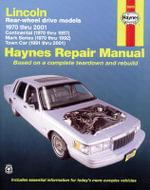 Lincoln Town Car Automotive Repair Manual : 70-10 - Mark Ryan