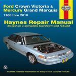 Ford Crown Victoria & Mercury Grand Marquis Automotive Repair Manual : 88-10 - Ken Freund