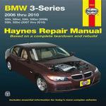 BMW 3-Series Automotive Repair Manual : 2006-2010 - Jay Storer