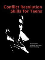 Conflict Resolution Skills for Teens - David Cowan