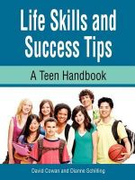 Life Skills and Success Tips, a Teen Handbook - David Cowan
