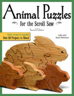 Animal Puzzles for the Scroll Saw : Scroll Saw Woodworking & Crafts Book - Judy Peterson