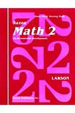 Saxon Math 2 Homeschool : Homeschool Set First Edition - Larson