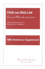 Hutt and Merrill's Statutory Supplement to Accompany Food and Drug, 2D : Shebuot, Eduyot, Abodah Zarah, Abot, Horayot - Peter B Hutt