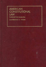 Tribes American Const Law V1 : A Practical Guide to Understanding Personal Injury... - TRIBE L H