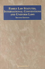 Family Law Statutes Intl Con 2 - WADLINGTON & O BRIEN