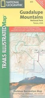 Guadalupe Mountains National Park : Trails Illustrated National Parks - National Geographic Maps