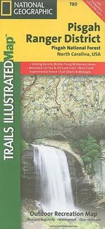 Pisgah Ranger District, Pisgah National Forest : Trails Illustrated Other Rec. Areas - National Geographic Maps