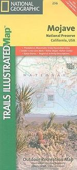 Mojave National Preserve : California, USA - National Geographic Maps