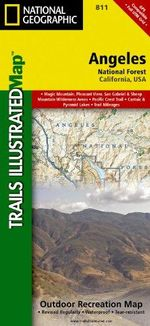 Angeles National Forest (Topographic Trail Map) - National Geographic Maps