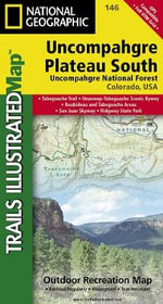 Uncompahgre Plateau, South : Trails Illustrated - National Geographic Maps