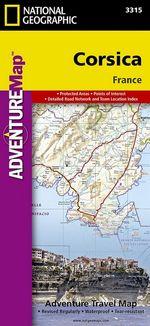Corsica : Travel Maps International Adventure Map - National Geographic Maps