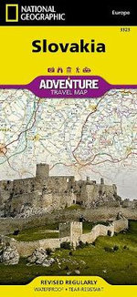 Slovakia : Travel Maps International Adventure Map - National Geographic Maps