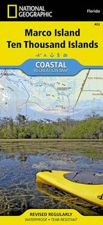 Ten Thousand Islands : Trails Illustrated Other Rec. Areas - National Geographic Maps