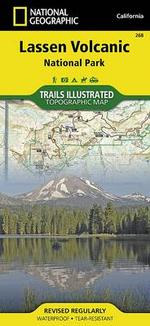 Lassen Volcanic National Park : Trails Illustrated National Parks - National Geographic Maps