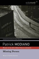 Missing Person - Patrick Modiano