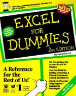 Excel For Dummies, 2nd Edition : For Dummies - Greg Harvey