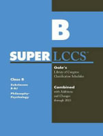 SUPERLCCS 13 : Schedule B-BJ Philsophy & Psychology