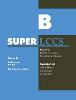 SUPERLCCS 13 : Schedule Br-Bx Christianity Bible