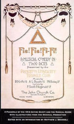 Fie! Fie! Fi-Fi! : A Facsimile of the 1914 Acting Script and Musical Score - F. Scott Fitzgerald