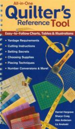 All-In-One Quilters Reference Tool : Easy to Follow Charts, Tables & Illustrations - Harriet Hargrave