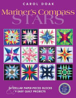 Mariner's Compass Stars : 24 Stellar Paper-pieced Blocks & 9 Easy Quilt Projects - Carol Doak